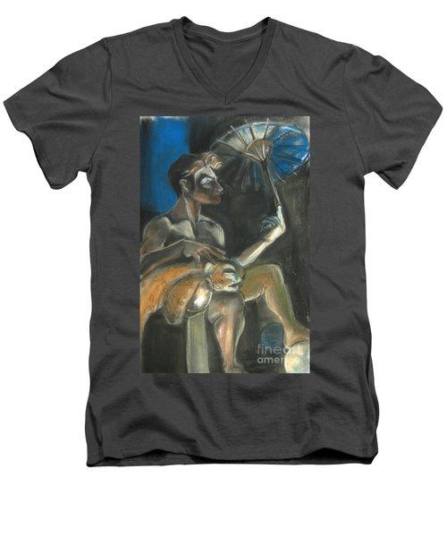 Circus Man Men's V-Neck T-Shirt