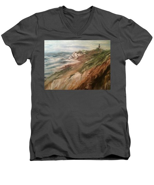 Cliff Side - Newport Men's V-Neck T-Shirt