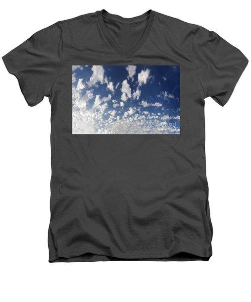 Cloudy Sky Men's V-Neck T-Shirt