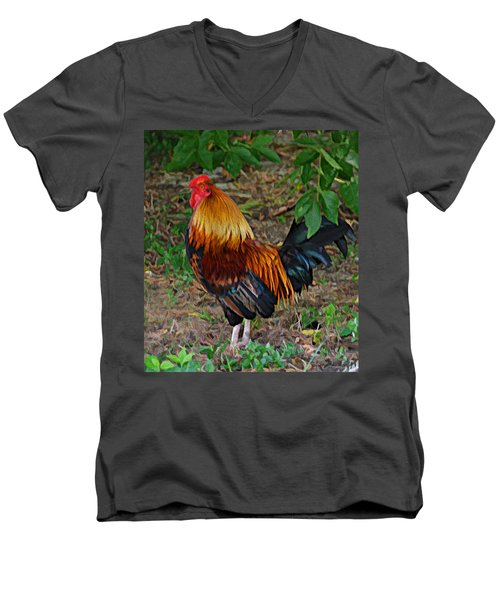 Cogg-a-doodle Doo Men's V-Neck T-Shirt