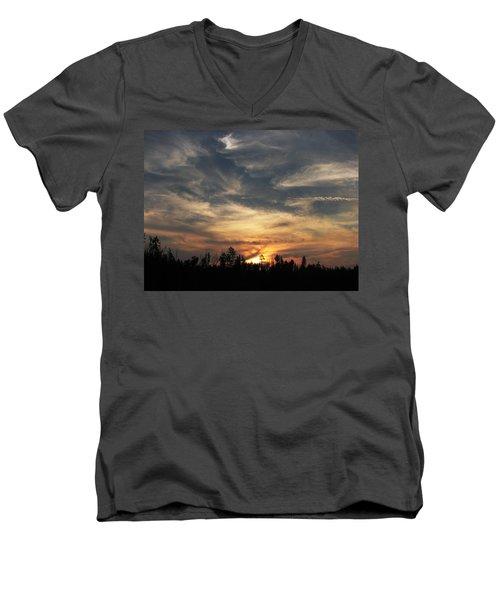 Color Creation  Men's V-Neck T-Shirt