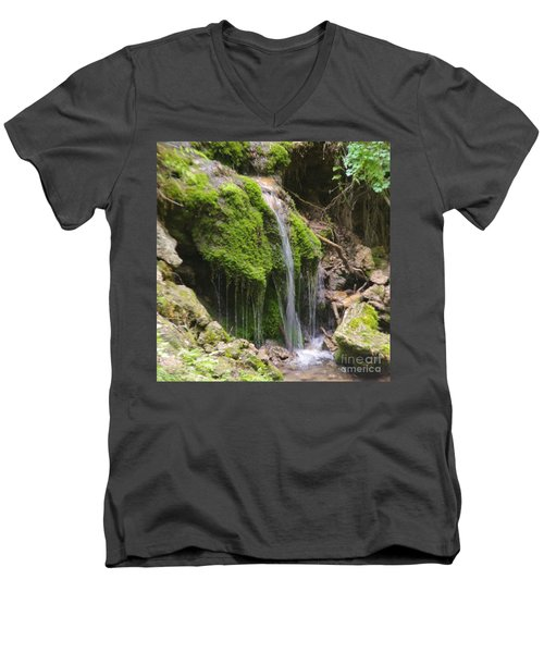 Men's V-Neck T-Shirt featuring the photograph Colorado 2 by Deniece Platt