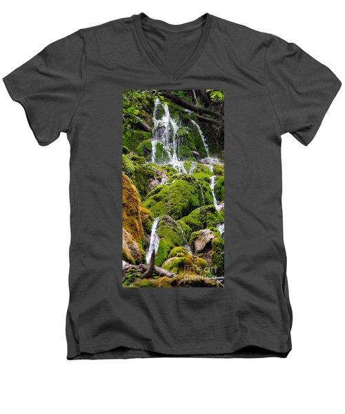 Men's V-Neck T-Shirt featuring the photograph Colorado 6 by Deniece Platt