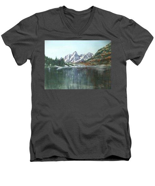 Colorado Beauty Men's V-Neck T-Shirt