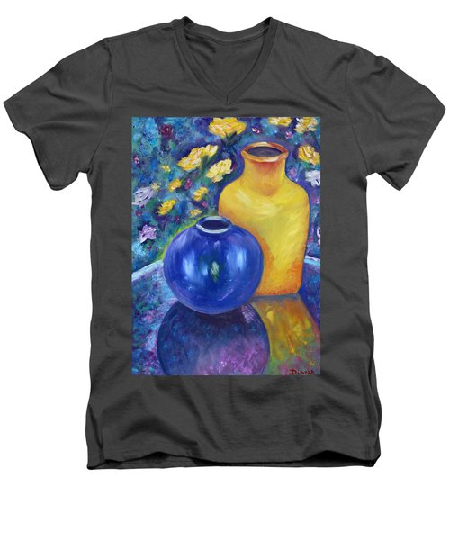 Colorful Jars Men's V-Neck T-Shirt