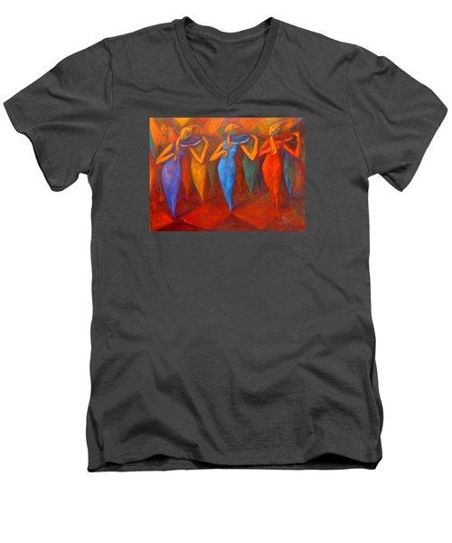 Composition  Men's V-Neck T-Shirt