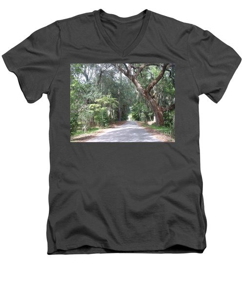 Covered By Nature Men's V-Neck T-Shirt