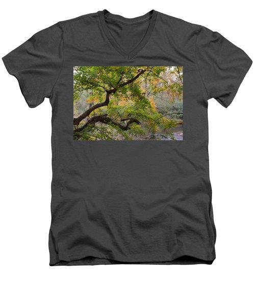 Crooked Limb Men's V-Neck T-Shirt