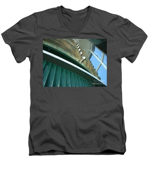 Crystal Lights Men's V-Neck T-Shirt