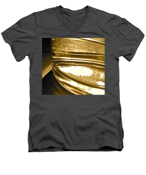 Men's V-Neck T-Shirt featuring the photograph cup IV by Bill Owen