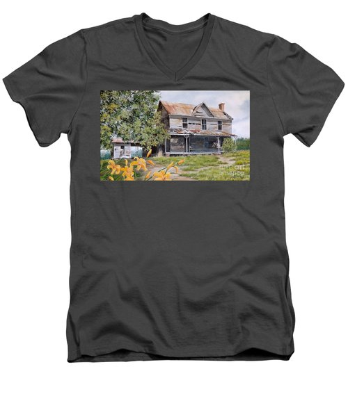 Days Gone By...sold Men's V-Neck T-Shirt