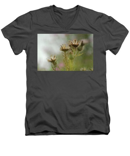 Men's V-Neck T-Shirt featuring the photograph Delicate Balance by Tam Ryan