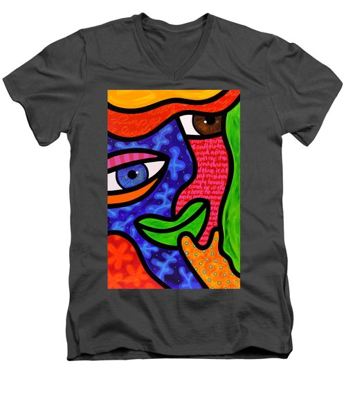 Dream Weavers Men's V-Neck T-Shirt