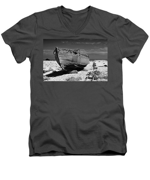 Dungeness Decay Men's V-Neck T-Shirt