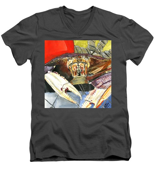 Dungeness Men's V-Neck T-Shirt