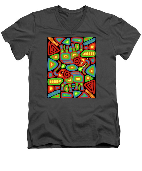 Elephant Mola Men's V-Neck T-Shirt