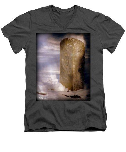 Elisabeth  Men's V-Neck T-Shirt