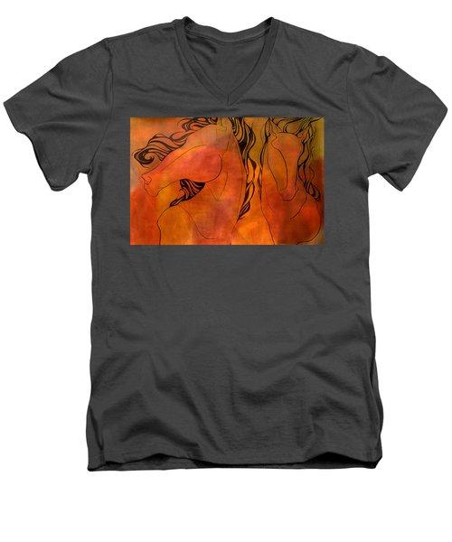 En Gallop Men's V-Neck T-Shirt