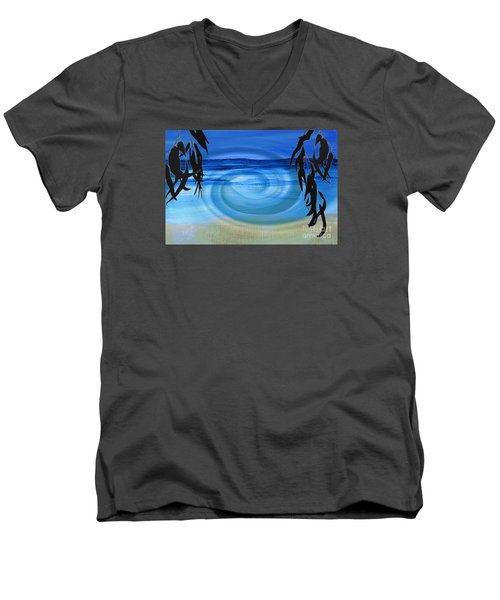 Eucalyptus Ocean View Men's V-Neck T-Shirt
