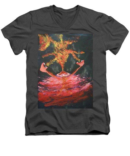 Fearless Rage Men's V-Neck T-Shirt