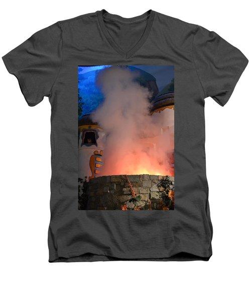 Fiery Entrance Men's V-Neck T-Shirt