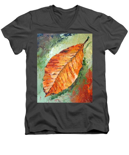 First To Fall Men's V-Neck T-Shirt