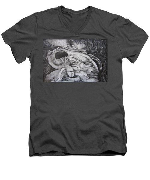 Fomorii General Men's V-Neck T-Shirt