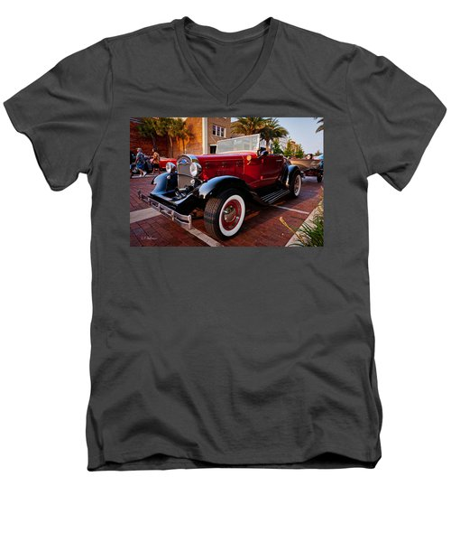 Ford Roadster Men's V-Neck T-Shirt