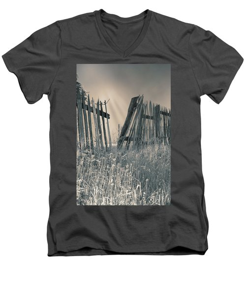 Men's V-Neck T-Shirt featuring the photograph Freedom by Mary Almond