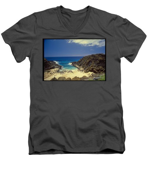 From Here To Eternity Beach Men's V-Neck T-Shirt