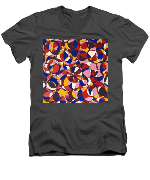 Full Circle Men's V-Neck T-Shirt