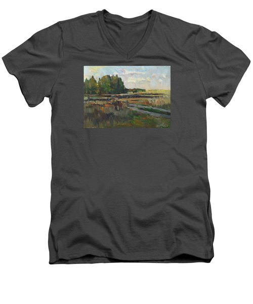 Gentle Autumn Men's V-Neck T-Shirt