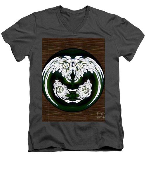 Ghoulish Nightmare Men's V-Neck T-Shirt