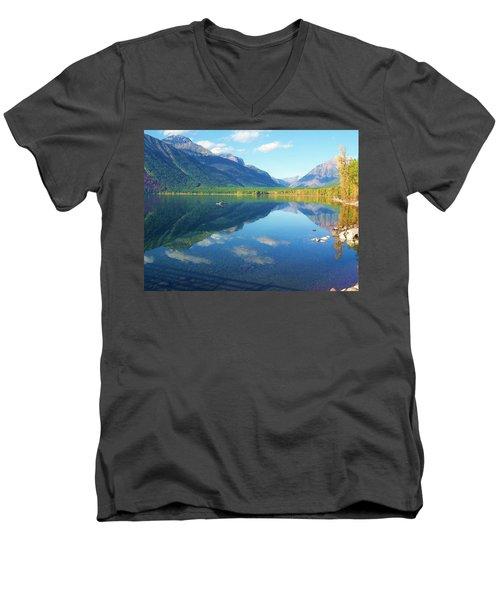 Glacier Park Magic Men's V-Neck T-Shirt