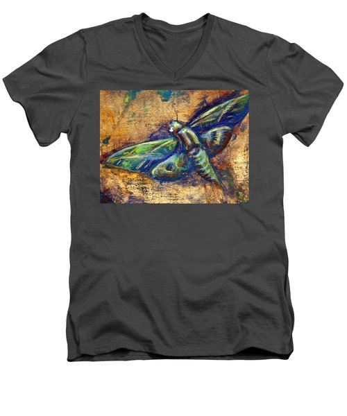 Gold Moth Men's V-Neck T-Shirt