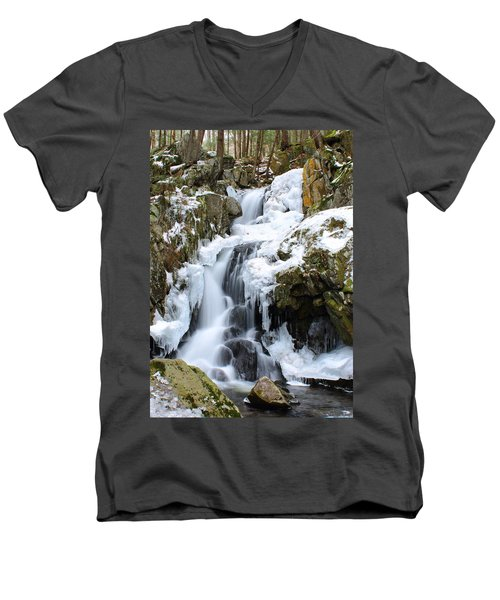 Goldmine Falls Men's V-Neck T-Shirt