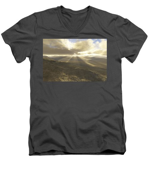 Great Valley Men's V-Neck T-Shirt