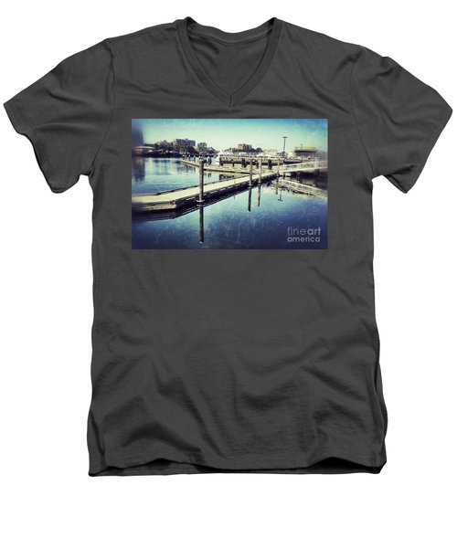 Harbor Time Men's V-Neck T-Shirt