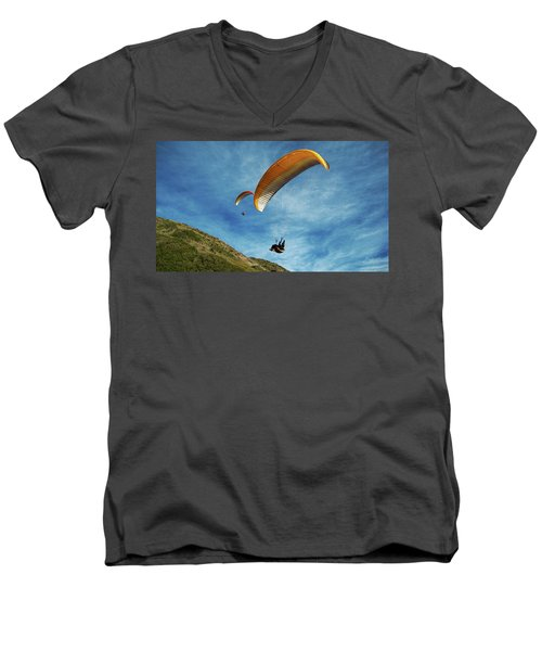 High Flyers Men's V-Neck T-Shirt