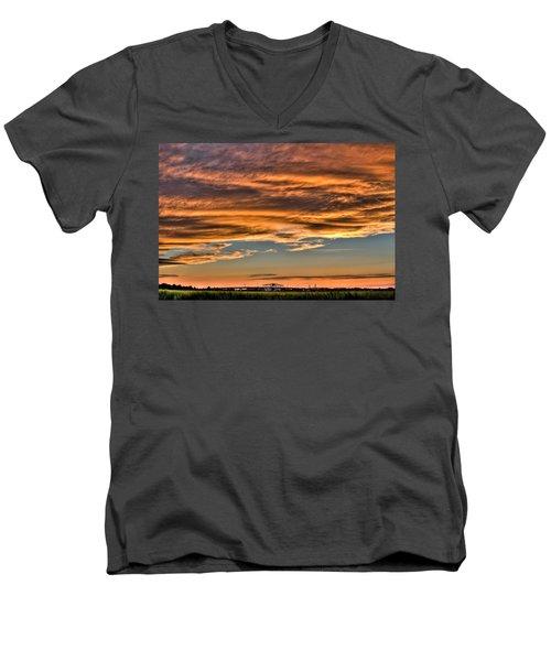 High Pressure Dominating Men's V-Neck T-Shirt