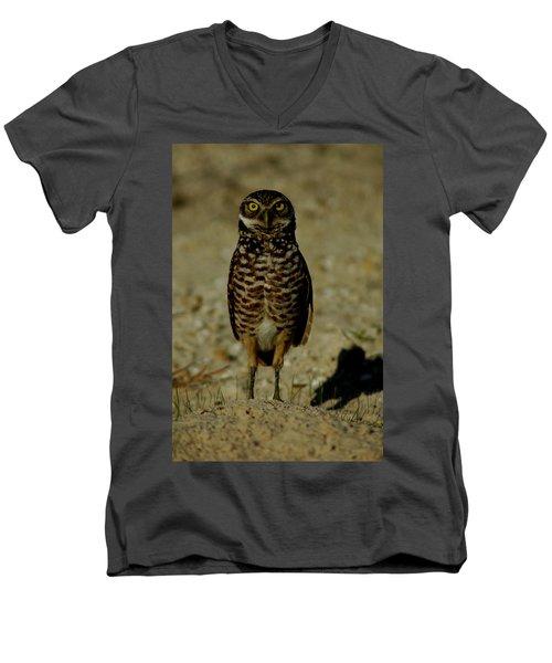 Hoo Are You? Men's V-Neck T-Shirt