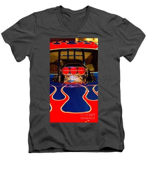 Hot Rod 1 Men's V-Neck T-Shirt