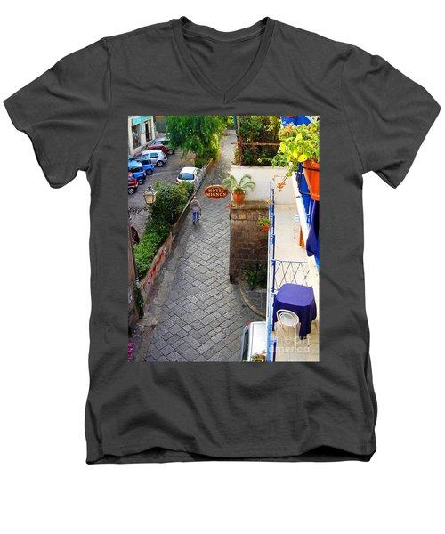 Hotel Mignon Sorrento Men's V-Neck T-Shirt