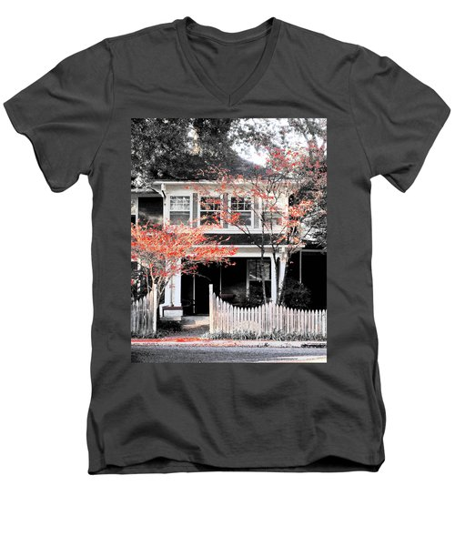 House In Cooper Young Men's V-Neck T-Shirt