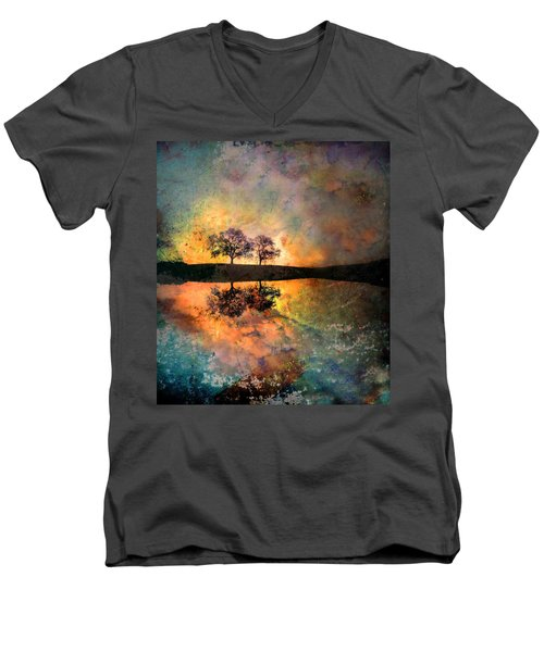 How Trees Reinvent The Morning Men's V-Neck T-Shirt