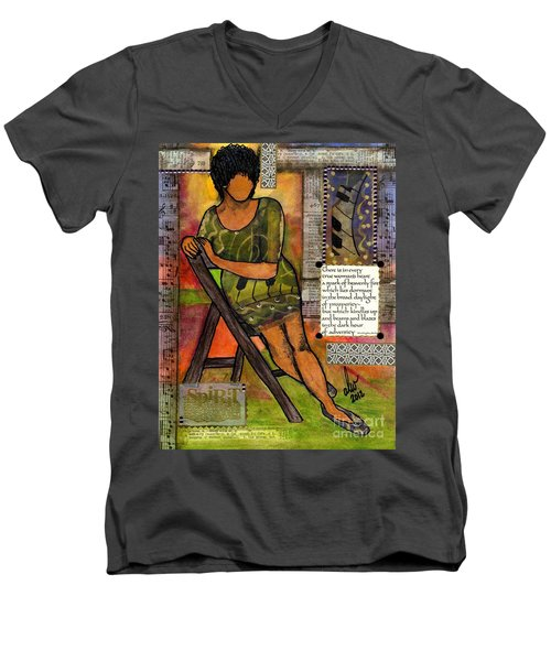 In Every True Woman Men's V-Neck T-Shirt