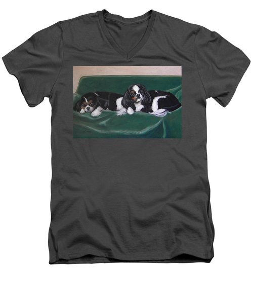 In The Lap Of Luxury Men's V-Neck T-Shirt