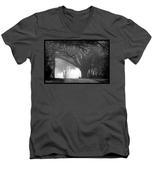 In To The Unknown Men's V-Neck T-Shirt