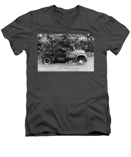 International Tree Planter Men's V-Neck T-Shirt