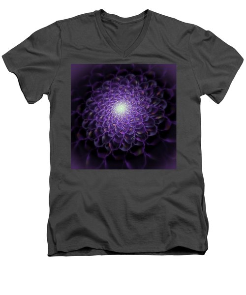 Iridescent Men's V-Neck T-Shirt
